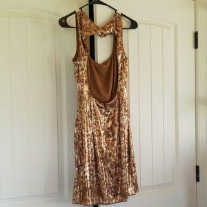 Cache Dresses - Sequins Mini Dress